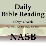 Read the Bible in a Year Podcast from BibleMirror.com