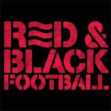 Red & Black Football