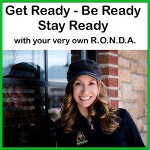 Get Ready - Be Ready - Stay Ready