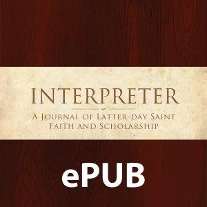 ePub feed of Interpreter: A Journal of Mormon Scripture