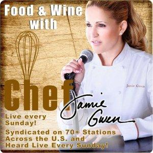 FOOD and WINE with CHEF JAMIE GWEN