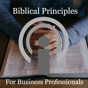 Biblical Brinciples for Business Professionals