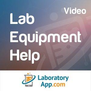 Laboratory App: Lab Equipment Help (Video)