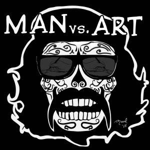 Man vs. Art
