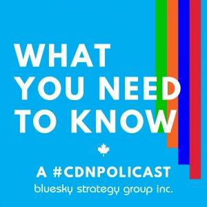 What You Need to Know - a #CDNPolicast from Bluesky Strategy