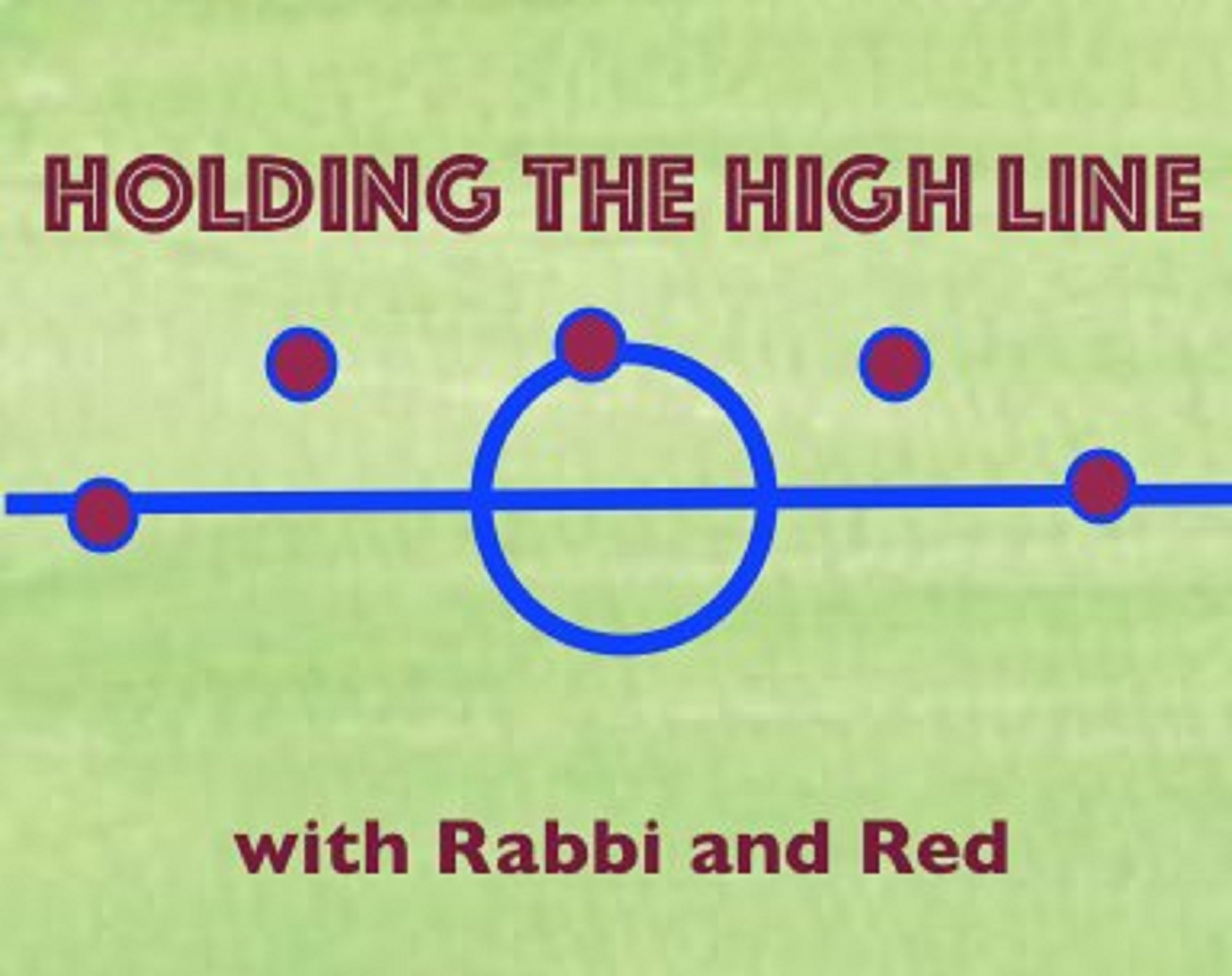 Holding The High Line with Rabbi and Red